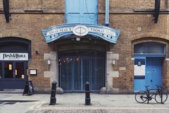 Thomas Neal's magazyn, przestrzeń dla detalicznych sklepów, biura, rozrywka i siedziba w Londyn, UK zdjęcie stock