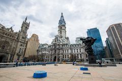 Thomas-paine plaze in der Mittelstadt dur Philadelphias, Pennsylvania Stockfoto