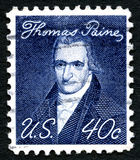 Thomas Paine US Postage Stamp Royalty Free Stock Image