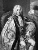 Thomas pelham-Holles, 1$ος δούκας του Νιουκάσλ Στοκ εικόνες με δικαίωμα ελεύθερης χρήσης