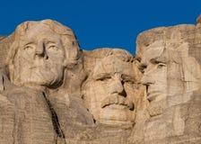 Thomas, peluche y Abe imagenes de archivo