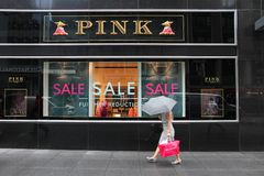 Thomas Pink store Stock Photography
