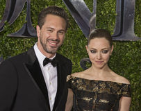 Thomas Sadoski and Amanda Seyfried at 2015 Tony Awards Royalty Free Stock Images
