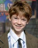 Thomas Sangster. Nanny McPhee Premiere Universal Studios Los Angeles, CA January 14, 2006 stock photos