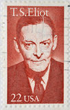 Thomas Stearns Eliot Stock Photo