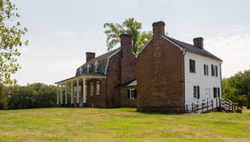 Thomas Stone house Port Tobacco Maryland Royalty Free Stock Photo