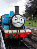 Thomas the tank engine. A working steam recreation of Thomas the Tank Engine on a steam heritage line Stock Image