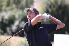 Thomas Tantot am Golf Prevens Trpohee 2009 Lizenzfreie Stockfotografie