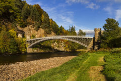Thomas Telford Craigellachie Bridge Royalty Free Stock Image