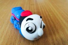 Thomas train made by clay Royalty Free Stock Image