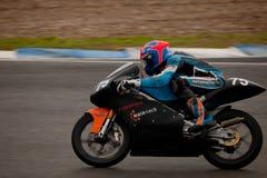 Thomas Van Leeuwen proef van motorrijden van 125cc Royalty-vrije Stock Foto
