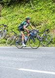 Thomas Voeckler na Col Du Tourmalet - tour de france 2015 Obraz Stock