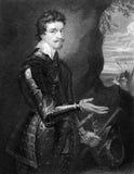 Thomas Wentworth 1st greve av Strafford Royaltyfri Foto