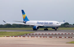 ThomasCook Airbus A330 Stock Images