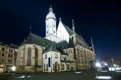 Thomaskirche à Leipzig photos stock