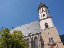 Thomaskirche Leipzig Fotos de archivo