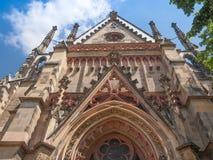 Thomaskirche Leipzig images libres de droits