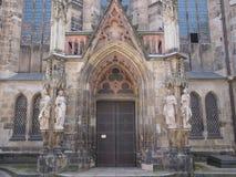 Thomaskirche Leipzig Imagenes de archivo