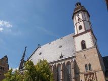 Thomaskirche Leipzig Fotografía de archivo