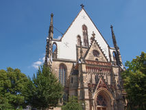 Thomaskirche Leipzig Imagen de archivo libre de regalías
