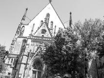 Thomaskirche Leipzig fotografía de archivo libre de regalías
