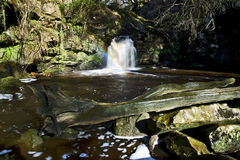 Thomason Foss Waterfall, Thomason Woods, Beck Hole Royalty Free Stock Photo