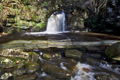 Thomason Foss Waterfall, Thomason Woods, Beck Hole Stock Images