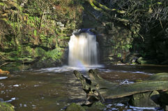 Thomason Foss Waterfall, Thomason Woods, Beck Hole Royalty Free Stock Images