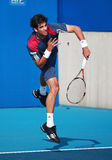 Thomaz Bellucci of Brazil in action stock images