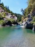 Thomes Creek, Coast Range Mountains of California. Thomes Creek flows out of the Coast Range Mountains of Northern California stock photography