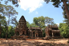 Thommanon in Angkor Royalty Free Stock Image