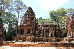 Thommanon in Angkor Royalty Free Stock Photography