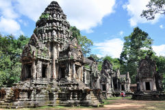Thommanon in Angkor Wat Royalty-vrije Stock Foto's