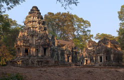 Thommanon, Hindu temples at Angkor, Cambodia. Royalty Free Stock Photos