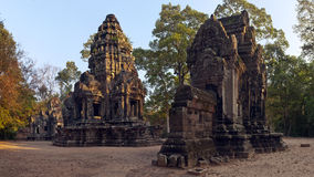 Thommanon, Hindu temple at Angkor, Cambodia. Stock Image