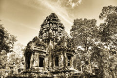 Thommanon temple in  Angkor   Cambodia Royalty Free Stock Image