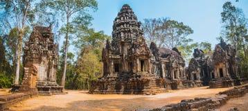 Thommanontempel in Angkor Wat royalty-vrije stock afbeelding