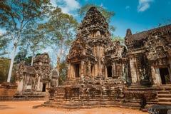 Thommanontempel in Angkor Wat royalty-vrije stock foto's