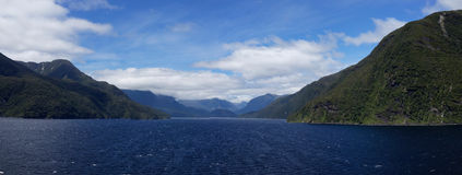 Thompson and Doubtful Sound Royalty Free Stock Photography