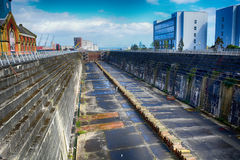 Thompson Graving Dock, Belfast, Nor Royalty Free Stock Photography