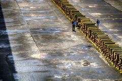 Thompson Graving Dock, Belfast, Nor Royalty Free Stock Images