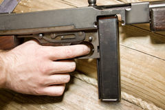 Thompson gun Stock Photos