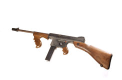 Thompson machine gun Stock Photo