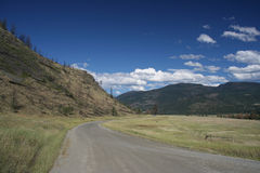 Thompson River Valley Stock Image