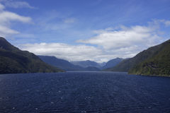 Thompson Sound / Doubtful Sound Royalty Free Stock Image