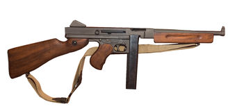 Thompson submachine pistolet Obrazy Stock