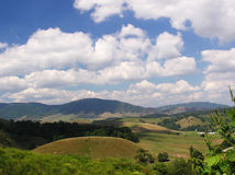 Thompson Valley, Virginia. A view across Thompson Valley, Virginia late August 2005 Stock Photo