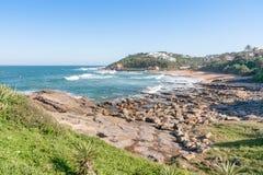 Thompsons Bay, Kwazulu Natal, South Africa. The beautiful coastline of Kwazulu Natal, South Africa Stock Image