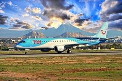Thompsons TUI Aircraft Royalty Free Stock Photo