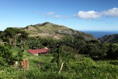 Thompsons Wood country district St Helena Island Royalty Free Stock Photography